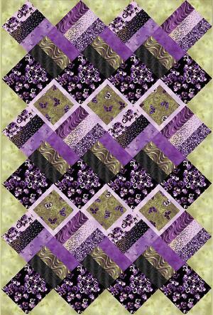 Fields Of Violet Quilt