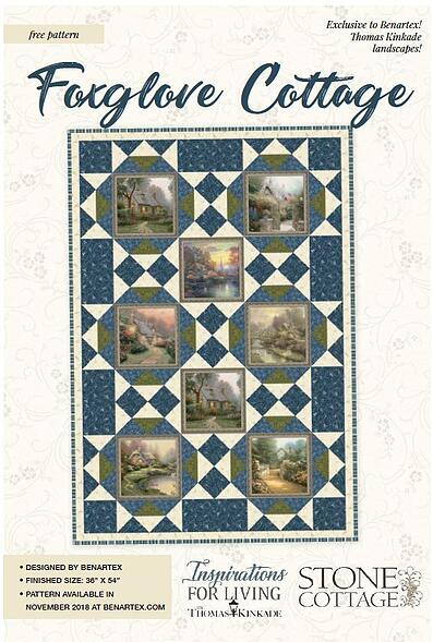 FoxgloveCottage Quilt Pattern