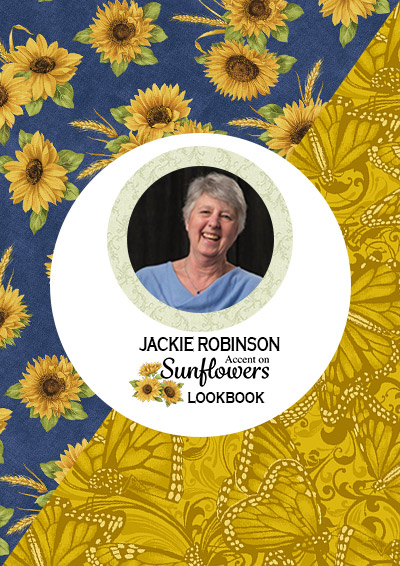 Jackie-Robinson-Accent-on-Sunflowers-Look-Book-Front