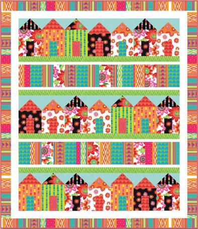 Pretty Little Houses Quilt Pattern