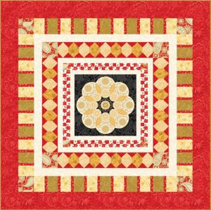 Star Jubilee Red Pattern
